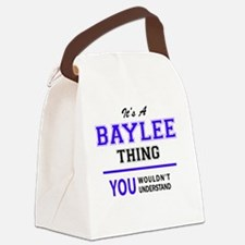 Cute Baylee Canvas Lunch Bag