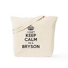 Funny Bryson Tote Bag