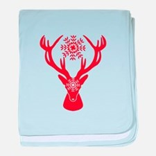 Cute Stag party baby blanket