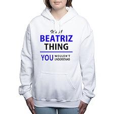 Cute Beatriz Women's Hooded Sweatshirt
