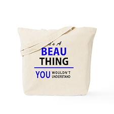 Unique Beau Tote Bag
