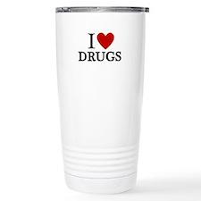 I love Drugs Travel Mug