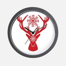 Cute Stag party Wall Clock