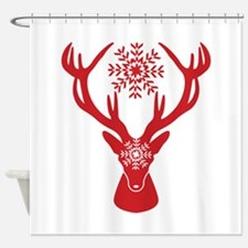 Cute Stag party Shower Curtain
