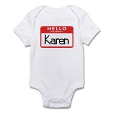 Hello Karen Infant Bodysuit