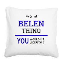 Cute Belen Square Canvas Pillow