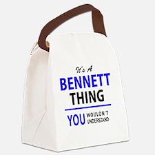 Cute Bennett Canvas Lunch Bag