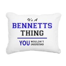Cool Bennett Rectangular Canvas Pillow