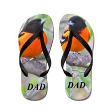 Northern Oriole Flip Flops