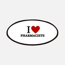 I Love Pharmacists Patches