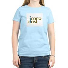 The iconoclast's Women's Pink T-Shirt