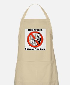 A Liberal Free Zone V1 BBQ Apron