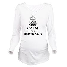Unique Bertrand Long Sleeve Maternity T-Shirt