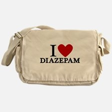 I Love Diazepam Messenger Bag