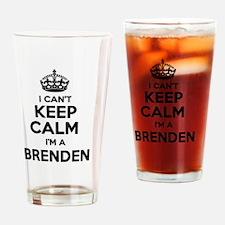 Funny Brenden Drinking Glass