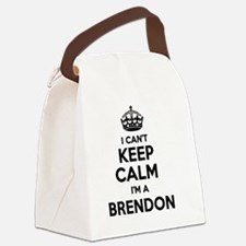 Funny Brendon Canvas Lunch Bag