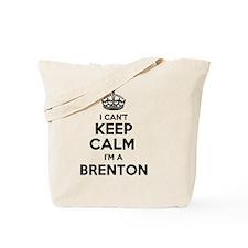 Funny Brenton Tote Bag