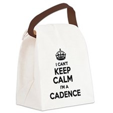 Funny Cadence Canvas Lunch Bag