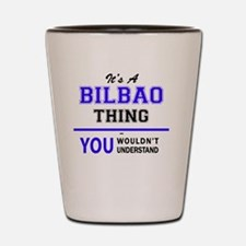 Unique Bilbao Shot Glass