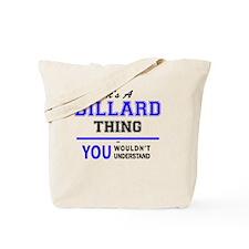 Unique Billards Tote Bag