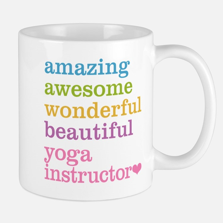 Yoga Instructor Mugs