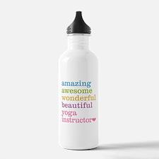 Yoga Instructor Sports Water Bottle