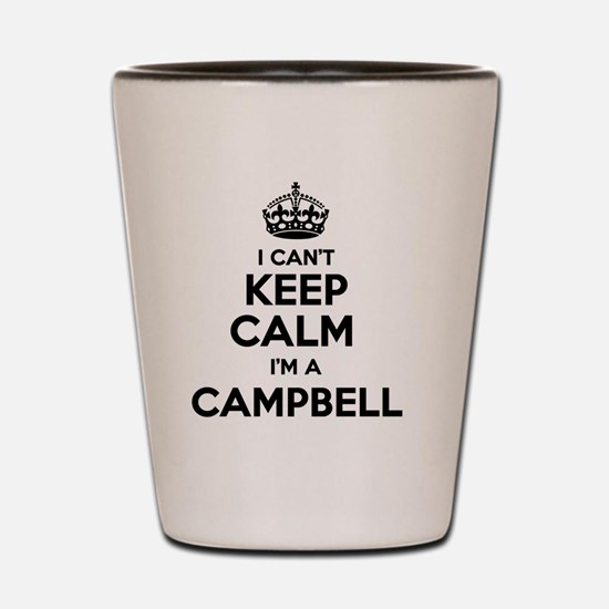 Funny Campbell Shot Glass
