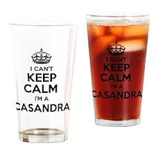 Funny Casandra Drinking Glass
