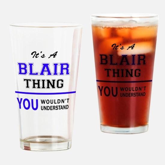 Unique Blair Drinking Glass