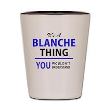 Funny Blanche Shot Glass