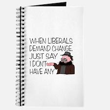 When Liberals Demand Change Journal