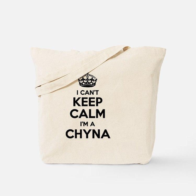 Cute I cant keep calm i have anxiety Tote Bag