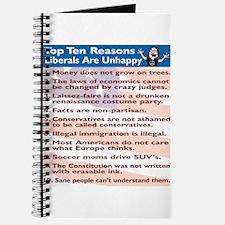 Top Ten Reasons Liberals Are Journal