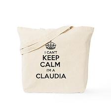 Funny Claudia Tote Bag