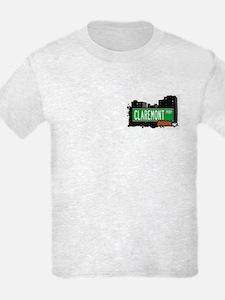 Claremont Pkwy, Bronx, NYC T-Shirt