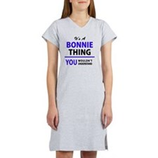 Cute Bonnie Women's Nightshirt