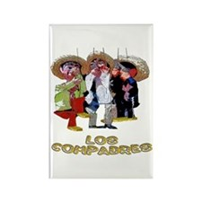 Los Compadres Rectangle Magnet