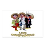 Los Compadres Postcards (Package of 8)