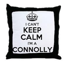 Funny Connolly Throw Pillow