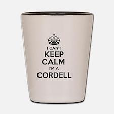Funny Cordell Shot Glass