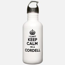Cute Cordell Water Bottle