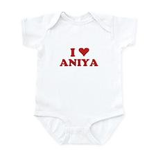 I LOVE ANIYA Infant Bodysuit