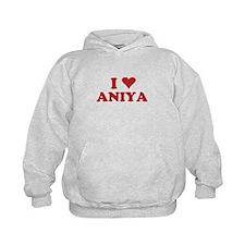 I LOVE ANIYA Hoodie