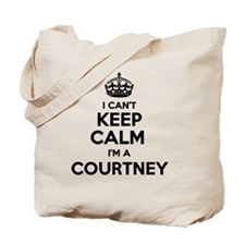 Funny Courtney Tote Bag