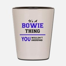 Funny Bowie Shot Glass