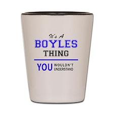 Boyle Shot Glass