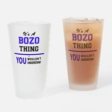 Cute Bozo Drinking Glass