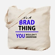Unique Brad Tote Bag