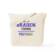 Cute Braden Tote Bag