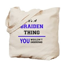 Cute Braiden Tote Bag